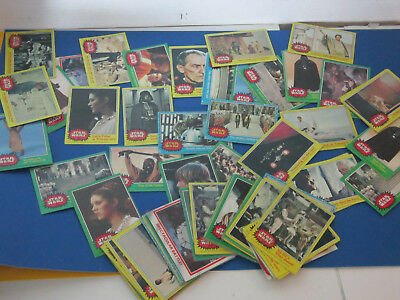 Vintage Star Wars Bubble Gum Cards Estate Find Lot !!!!