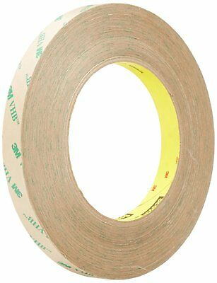 "3M Adhesive Transfer Tape 9460PC, Clear, 2Mils, 1/2""X60YD (Pack of 1)"