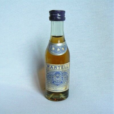 mignonnette mini bottle MARTEL Cognac * * *