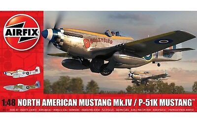AIRFIX® A05137 North American Mustang Mk.IV / P-51K Mustang™ in 1:48