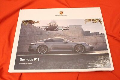 2019 PORSCHE 911 (992) Carrera S 4S (450 PS)  Brochure Prospekt Set - 11/2018