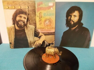countryrock LP > KRIS KRISTOFFERSON & BAND spooky lady's sideshow > NL 1974 OIS