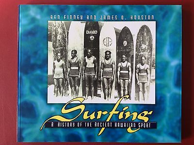 Surfing A History Of The Ancient Hawaiian Sport Ben Finney James Houston Book