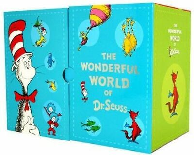 NEW Wonderful World of Dr Seuss 20 Book Gift Boxed Set Case Collection for Kids!