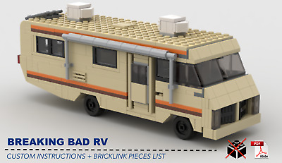 Breaking Bad RV CUSTOM INSTRUCTIONS ONLY for LEGO Bricks (Breaking Bad)