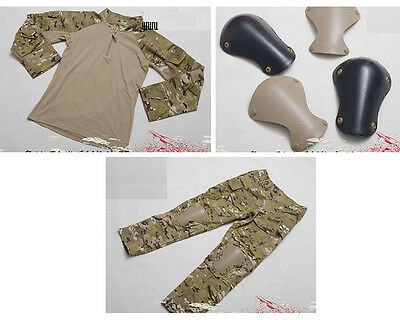 WARARMOR PATA Level 9 L9 Multicam Camo Combat Shirt Pant Knee