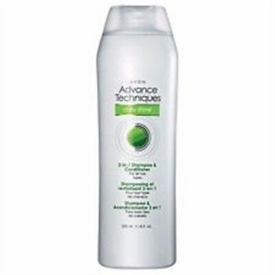 Avon Advantage Techniques Daily Shine 2-in-1 Shampoo & Conditioner - Ships Fast*