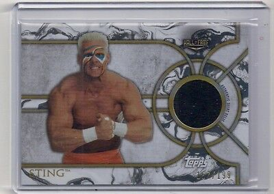Sting 2018 Topps WWE Legends Shirt Relic #157/199