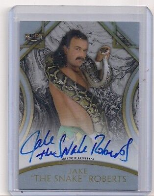 """Jake """"The Snake"""" Roberts 2018 Topps WWE Legends Auto #35/50"""