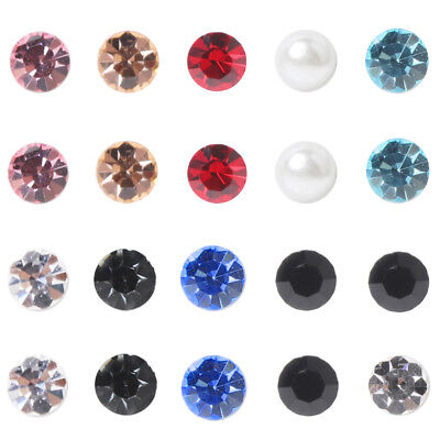 1Pair Magnetic Therapy Weight Loss Ear Studs Acupoints Stimulating Earrings Dote