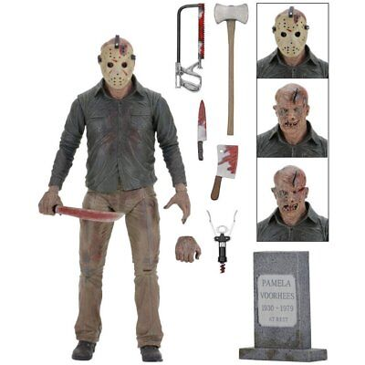 Neca - Friday The 13th Pièce 4 - Ultime Jason - Figurine Articulée