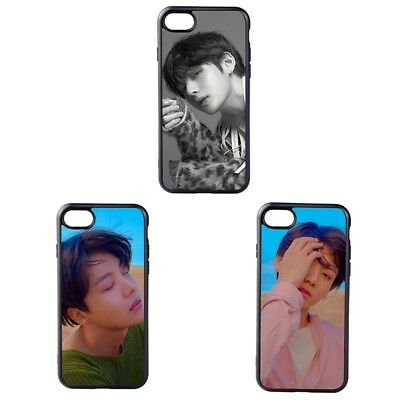 KPOP BTS Phone Case Love Yourself J HOPE V Tempered Cellphone Cover For iPhone