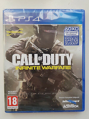 PS4 Call of Duty Infinite Warfareneuf sous blister