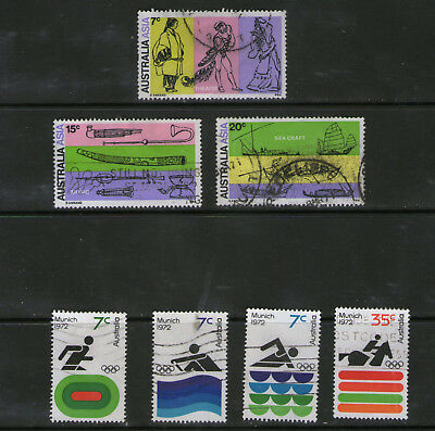 Clearance (Lot 19).   2 Australia Sets.    29p ask.
