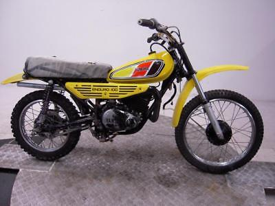 1977 Yamaha DT100 Unregistered US Import Barn Find Classic Restoration project