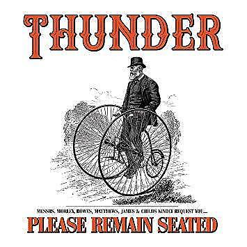Thunder - Please Remain Seated (NEW 2 VINYL LP)