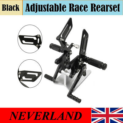 Adjuster Foot Peg Rearset Fit For Suzuki GSXR750 GSXR600 00-05 GSXR1000 00-04 UK