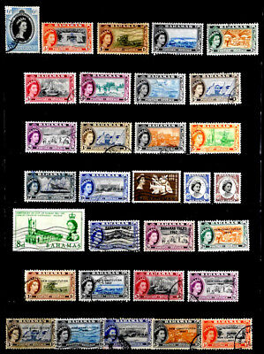 Bahamas, British: 1950's To 60's Stamp Collection