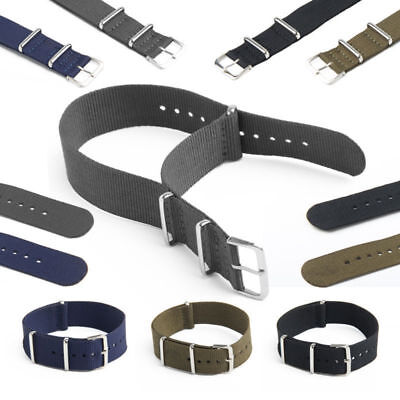 NATO Watch Strap Band Military Divers G10 Army Nylon Canvas 18mm 20mm 22mm Hot