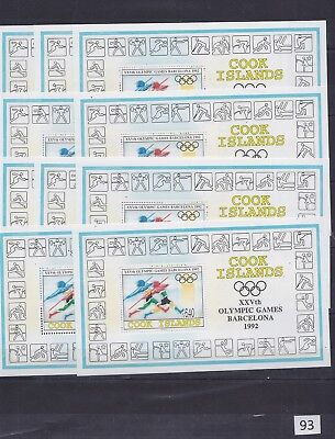 ++ 10X Cook Islands - Mnh - Olympic - Wholesale