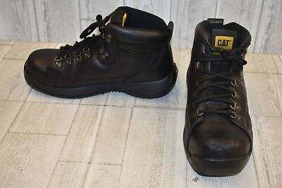 Caterpillar Hydraulic Steel Toe Leather Work Boots Mens