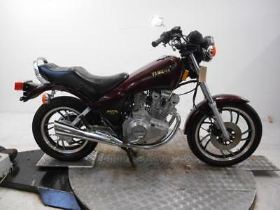 1982 Yamaha XJ400L Maxim Unregistered US Import Barn Find Restoration Project