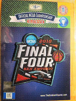 Official Licensed NCAA College Basketball 2018 Final Four Patch San Antonio