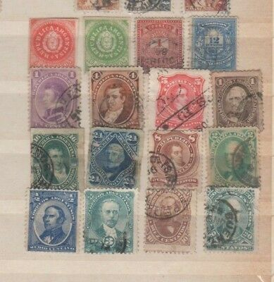 A very nice nice old Argentina group of issues
