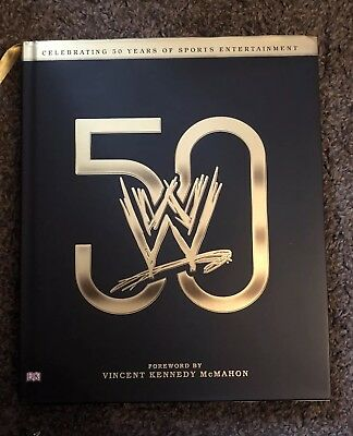 WWE 50: Celebrating 50 Years of Sports Entertainment Book