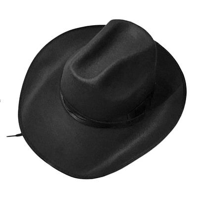 Western Style Adjustable Rope Male Female Caps New Cowboy Cowgirl Hats QK