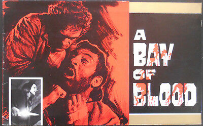 A BAY OF BLOOD pressbook French 1971 Mario BAVA
