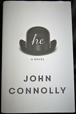 HE A NOVEL Stan Laurel & Oliver Hardy book John Connolly