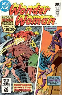 Wonder Woman (1st Series DC) #282 1981 VG Stock Image Low Grade