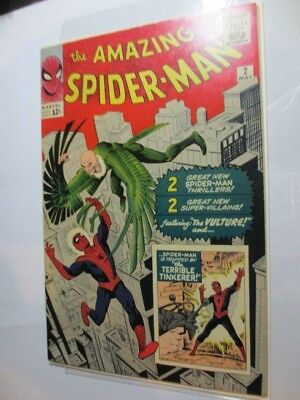 Xfine+ The Amazing Spider-Man #2 First Appearance Of The Vulture-No Res!