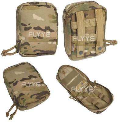 FLYYE MOLLE Tactical Medic First Aid Kit Pouch – MultiCam CORDURA US Army Camo