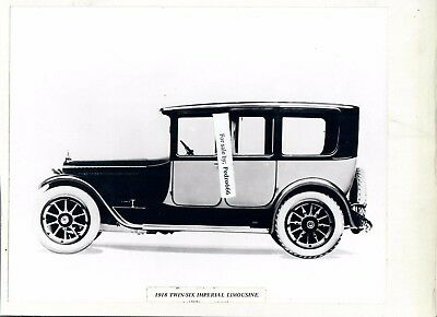 Lot of 2 Mounted Vintage Packard Car photograph s from a Exhibition 1918, 1920 d