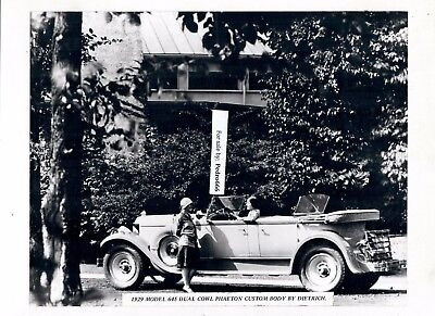 Lot of 2 Mounted photograph of  Vintage Packard Car from Exhibition 1929, 1930 f