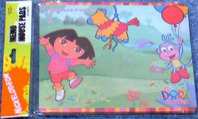 NEW Nickelodeon DORA the Explorer Memo Mouse Pad Factory Sealed Free Shipping !