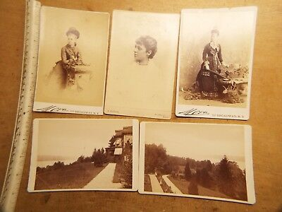 OLD Cabinet Card PhotoS LOT #1