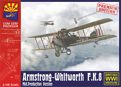Copper State Models #1030pr Armstrong-Whitworth F.K.8 Mid. Production in 1:48