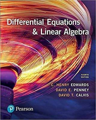 Differential Equations and Linear Algebra (4th Edition) EB00K