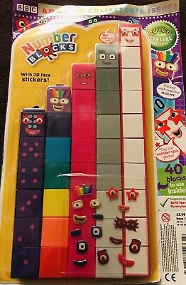 Collector 2019 Issue Cbeebies Number Magazine & Number Blocks 6-10 EYFS
