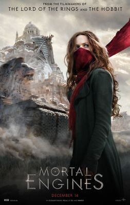 Mortal Engines - original DS movie poster - 27x40 D/S Style B