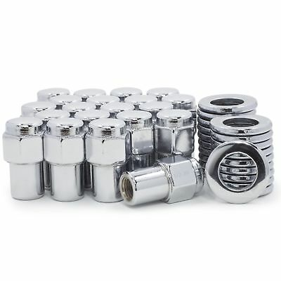 20 MAG LUG NUTS 1//2-20,10-OPEN,10 CLOSED CENTER LINE WESTERN US SLOTTED WHEELS