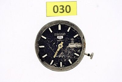 USED VINTAGE SEIKO cal  7009 MOVEMENT FOR 7002 DIVE WATCH NR# F00119