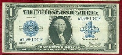 Fr 238-Series of 1923 Large Size Silver Certificate-Woods & White-NICE