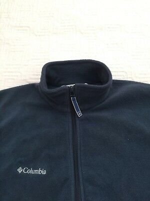COLUMBIA unisex POLAR fleece JACKET as NEW