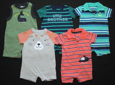 Boy 12 Months Cotton Summer Rompers Clothes Outfits Lot Free Shipping!!