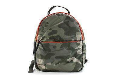 8d910c53cf25 Tommy Hilfiger NEW Green Camo Kensington Quilted Nylon Backpack Bag  118-   022