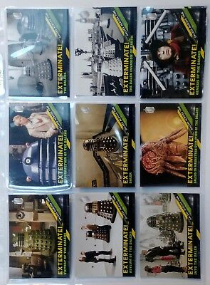 Topps DOCTOR WHO Timeless - DALEKS ACROSS TIME Complete 10 Card Chase Set 2016
